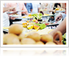 Food to serve at corporate event